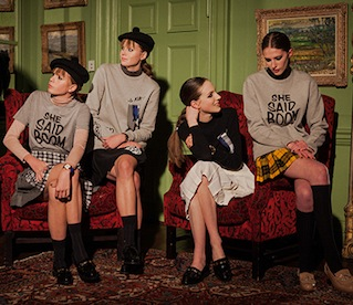 LFW AW15 | Backstage At Le Kilt