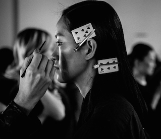 LFW AW15 | Backstage At Christopher Raeburn
