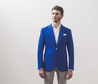 Doing It For The Boys | Lee Marsh Collaborates With Hainsworth Textile Mill
