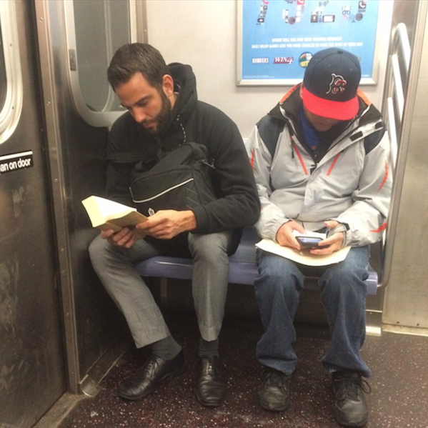 Hot Dudes Reading