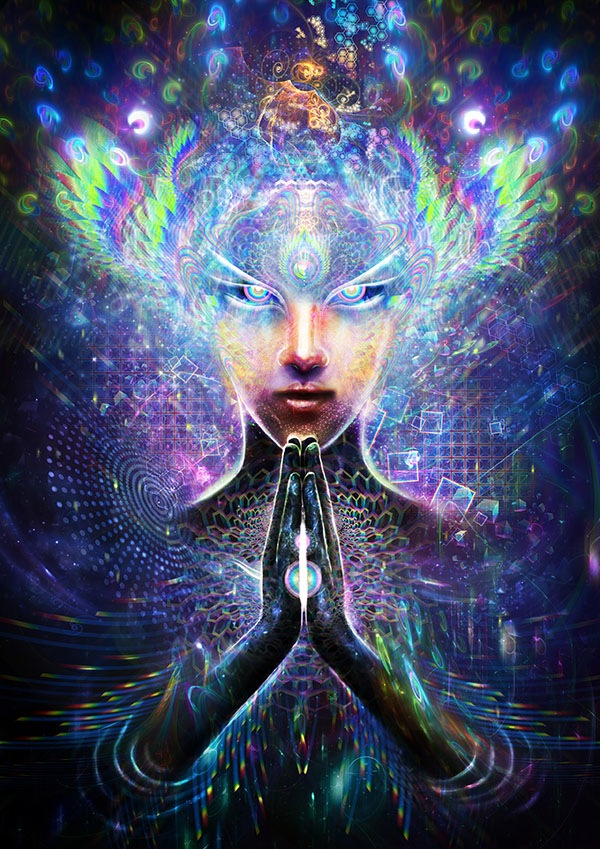 Multidimensional Prayer By Louis Dyer