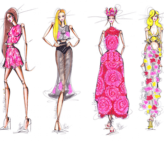 LFW SS16 | Day 1 | Illustrated Trends