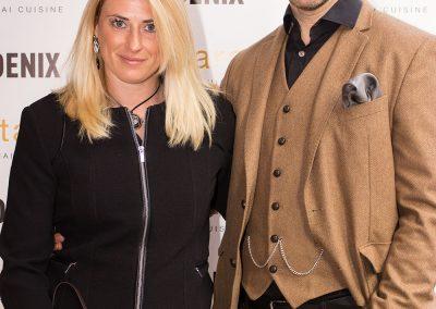 Lady Charlotte Lynham and Adam Attew