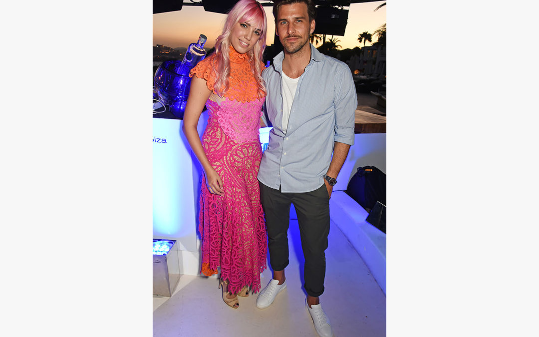 CÎROC On Arrival Ibiza Party with Amber le Bon