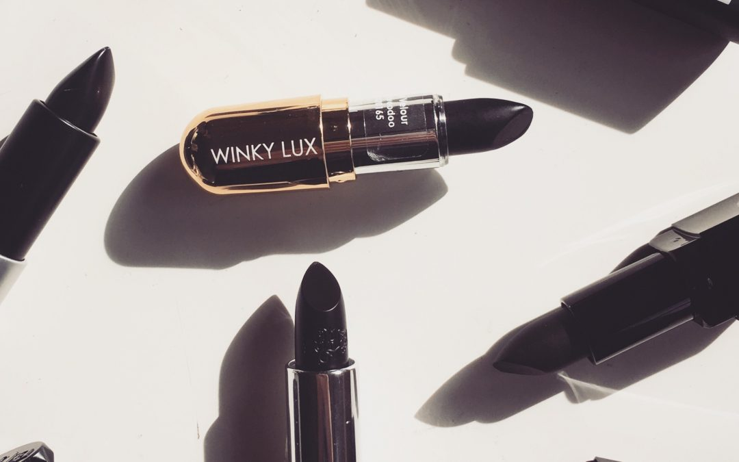 5 of the Best Vampy Black Lipsticks