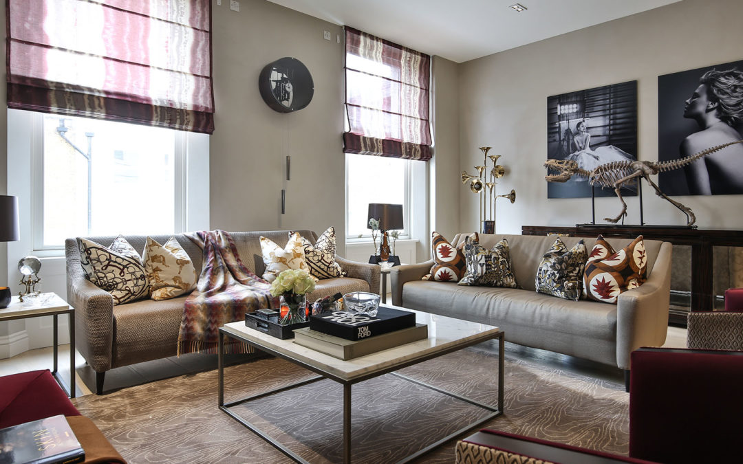 Take a Look Inside 5mm Designs' Hameed Hani's Central London Bachelor Pad