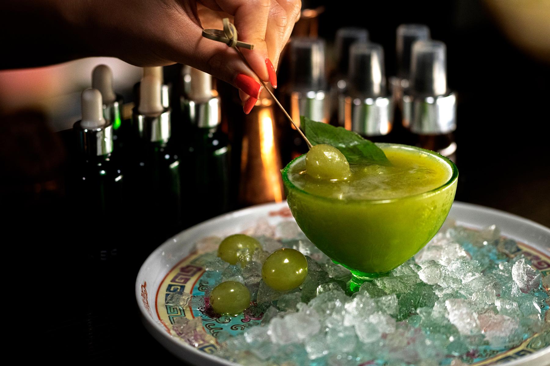 Basil-&-Grape-Cocktail